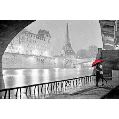 PH0493 파리 에펠탑 키스