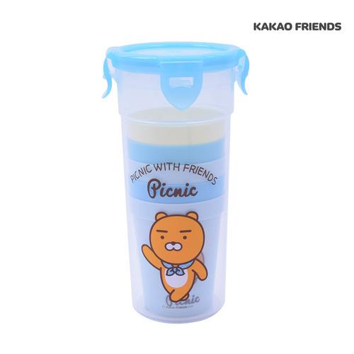 피크닉 컵 5P세트 라이언 KF6856