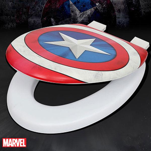 캡틴아메리카 소프트 변기커버 특대O형