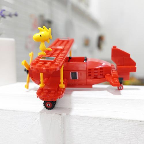 피넛츠(스누피) 블록 : Flying Ace 빨간 비행기