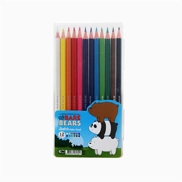 L위 베어 베어스 12색 색연필