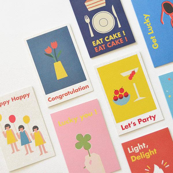 잼 생일축하 카드