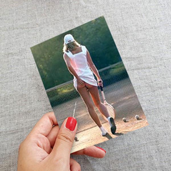 PYRAMID Tennis Girl 엽서