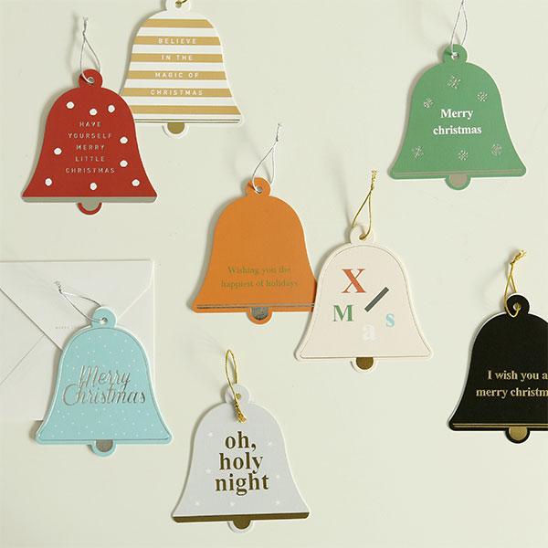 크리스마스 벨 카드 - 01~08