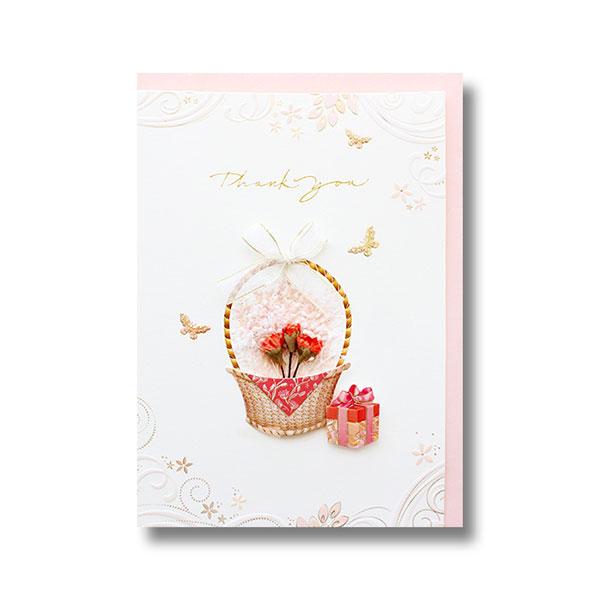 030-SG-0041 꽃바구니 감사카드