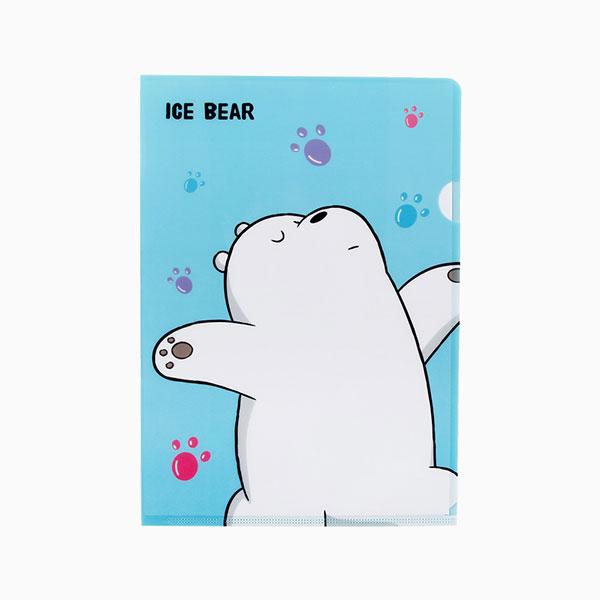 위 베어 베어스 파일폴더 - 발바닥 아이스베어
