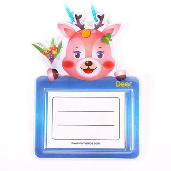 600 어린이명찰 사슴 5개입