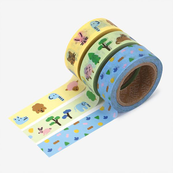 Masking tape 3p set 02 Friends