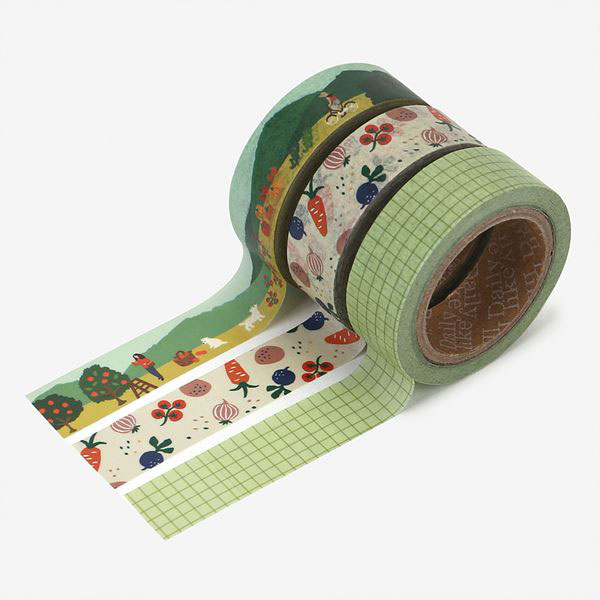 Masking tape 3p set 03 Little forest