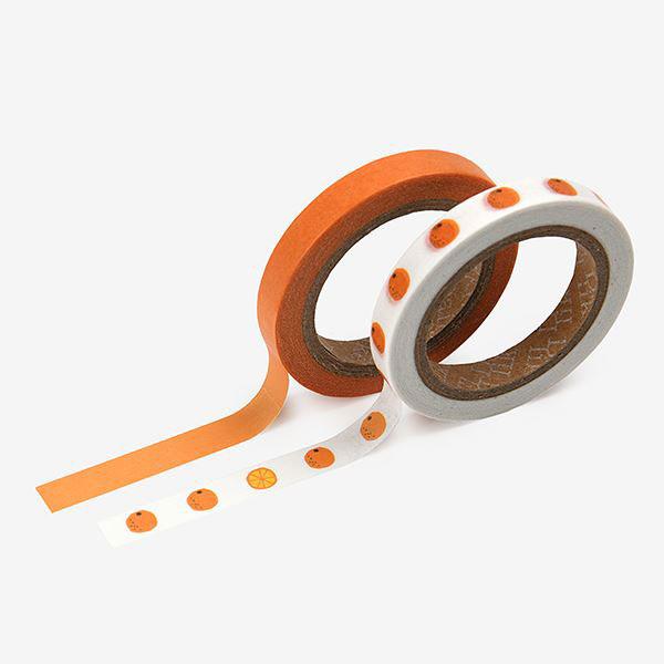 Masking tape slim 2p 16 Citrus