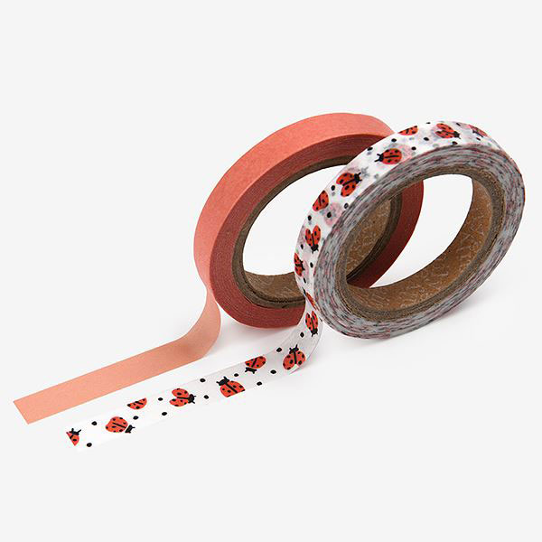 Masking tape slim 2p 20 Lady bird