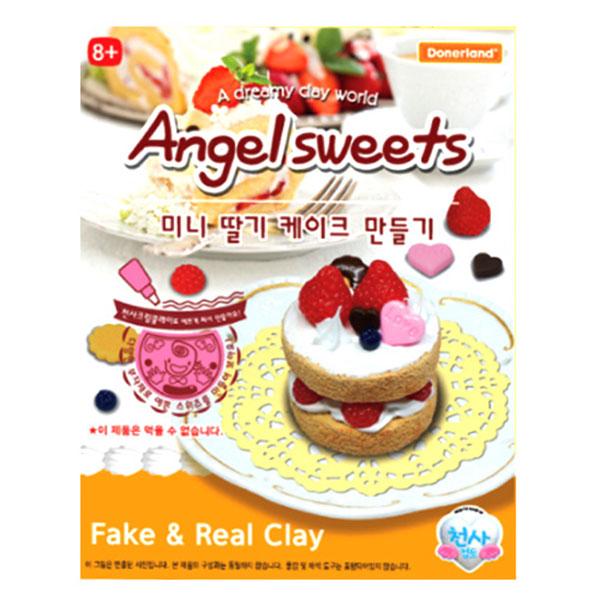 엔젤스위츠 미니딸기 케이크 만들기