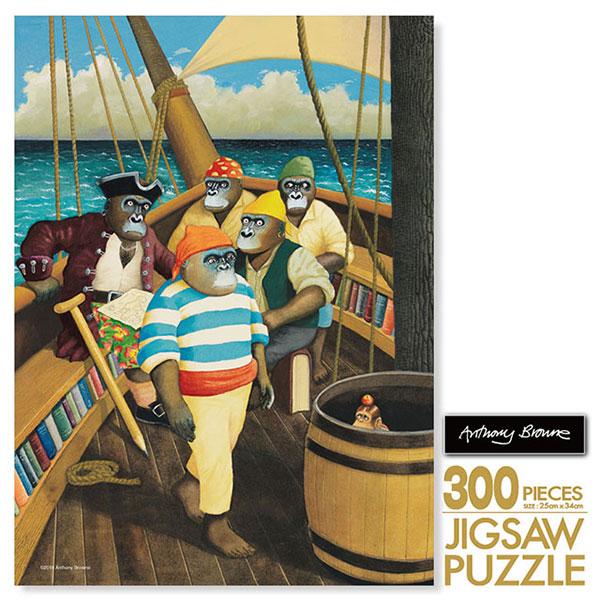 앤서니 브라운 직소퍼즐 300 보물섬