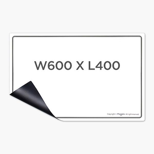유리용 화이트보드 600x400mm MGMB-WB6040