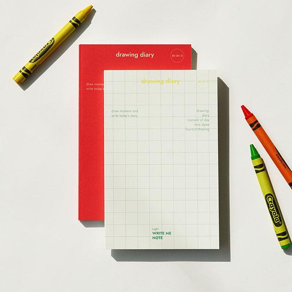 라잇미 노트 drawing diary