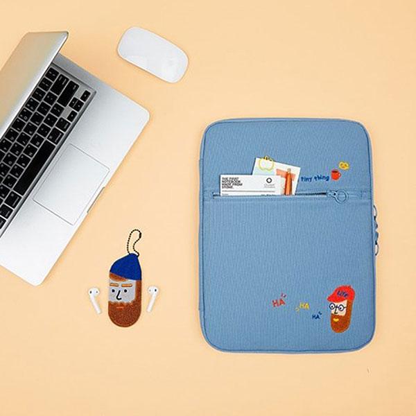 아이패드 노트북 포켓 오거나이저 부클 비어드맨