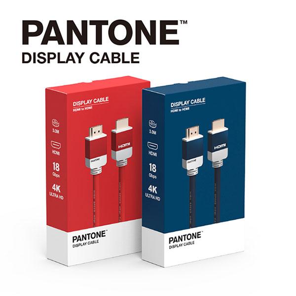 PANTONE HDMI to HDMI 3M 디스플레이 케이블