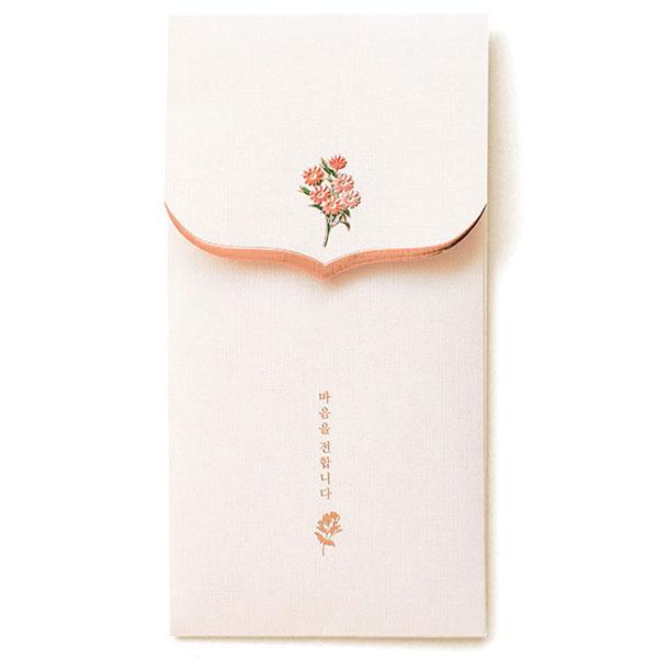 꽃단아 축하봉투 핑크