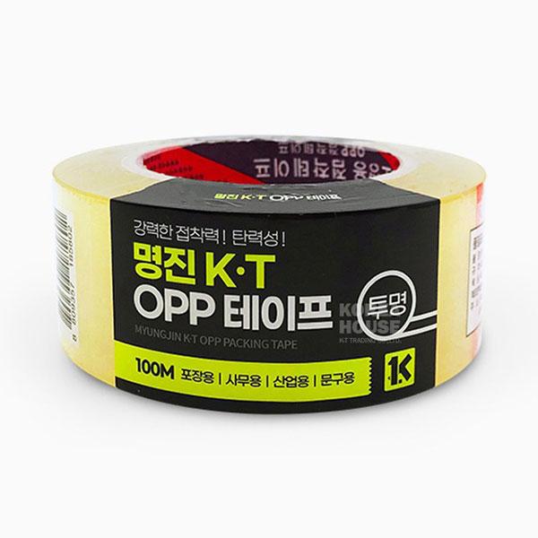 투명 OPP 강력 테이프 100M