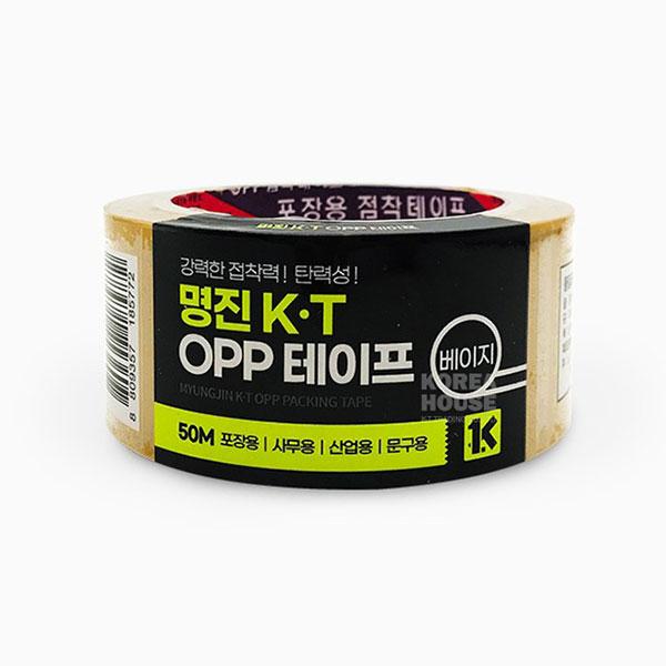 황색 OPP 강력 테이프 50M