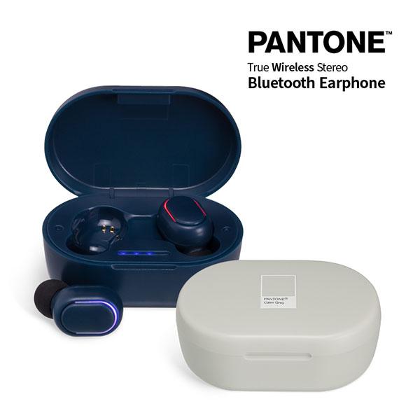 PANTONE 블루투스 이어폰_ 오토페어링 5.0
