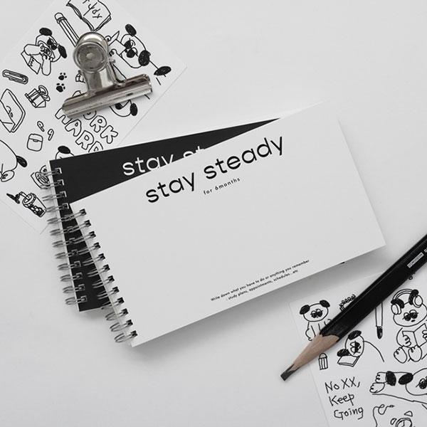 stay steady 스터디플래너 6개월