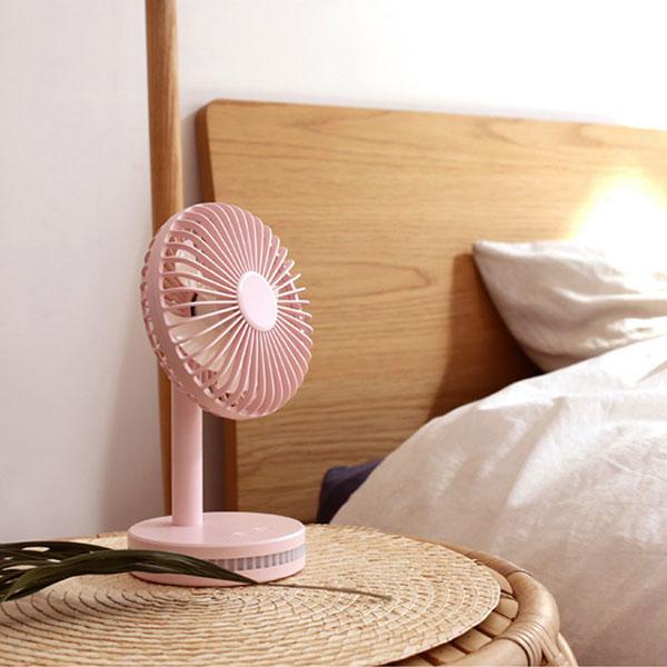 휴대용 선풍기 LED 탁상용 H4