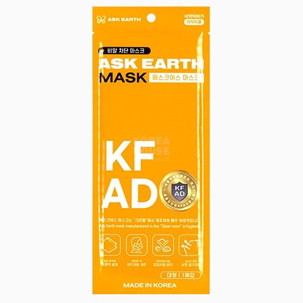 에스크어스 KFAD 마스크 대형 1매입 50개 1세트