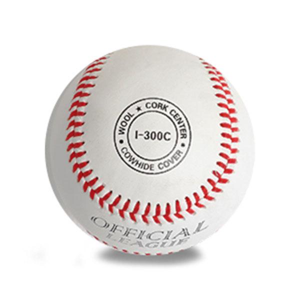 ILB 중학교-사회인용 야구공 I-300C 1개