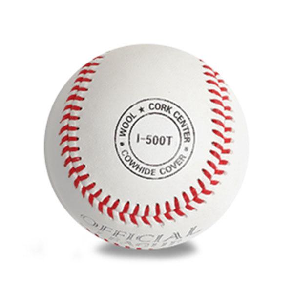 ILB 초등학생용 야구공 I-500T 1개