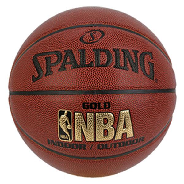 스팔딩 골드 NBA 농구공 74-559Z 7호