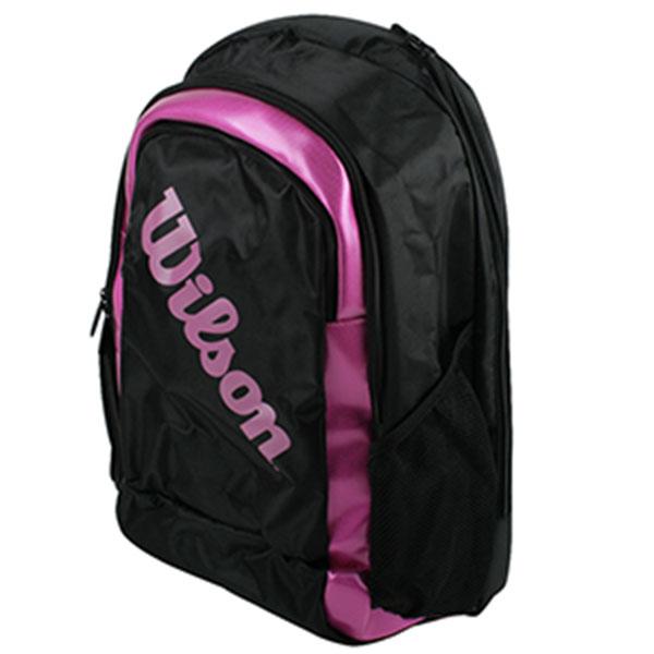 윌슨 배드민턴 백팩 2 라켓가방 WRR6150 핑크