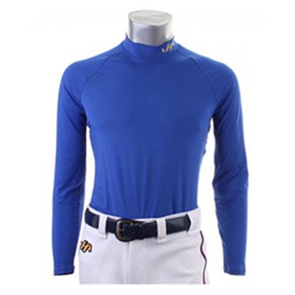 하타케야마 스판 언더 티셔츠 헥사 블루