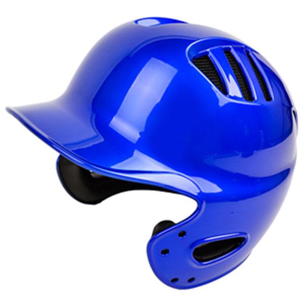 브렛 조절형 양귀 유광 타자헬멧 블루