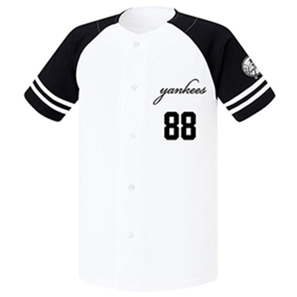 훼르자 야구 오픈 솔리드 티셔츠 FUS-7533