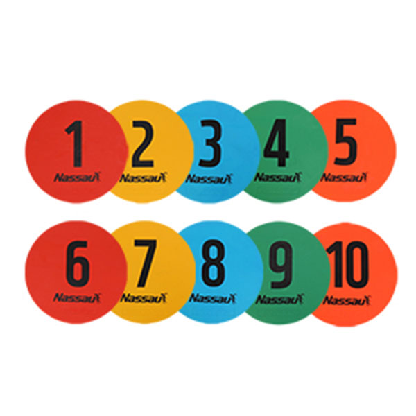 낫소 숫자 라운드마커 10개입 NXO-R210