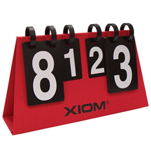 엑시옴 스코어보드 S4 Multi 탁구점수판 35점제 레드