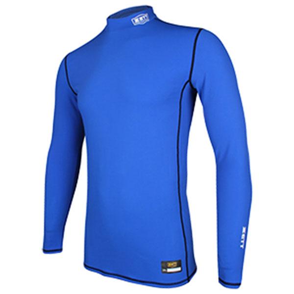제트 기모스판 반폴라 언더셔츠 BOK-500WN 블루