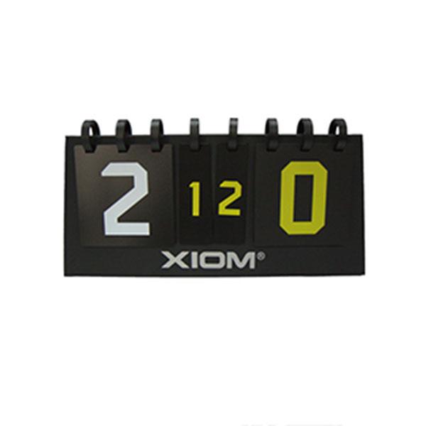 엑시옴 스코어보드 S6 Multi 탁구점수판 21점제 블랙