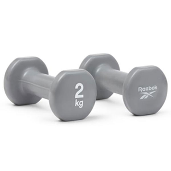 리복 덤벨 2개 1세트 RAWT-16152 2kg 그레이