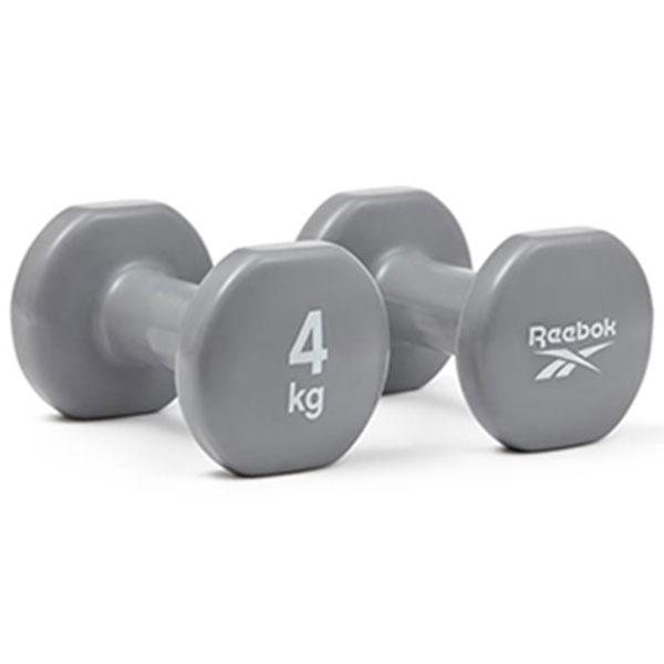 리복 덤벨 2개 1세트 RAWT-16154 4kg 그레이