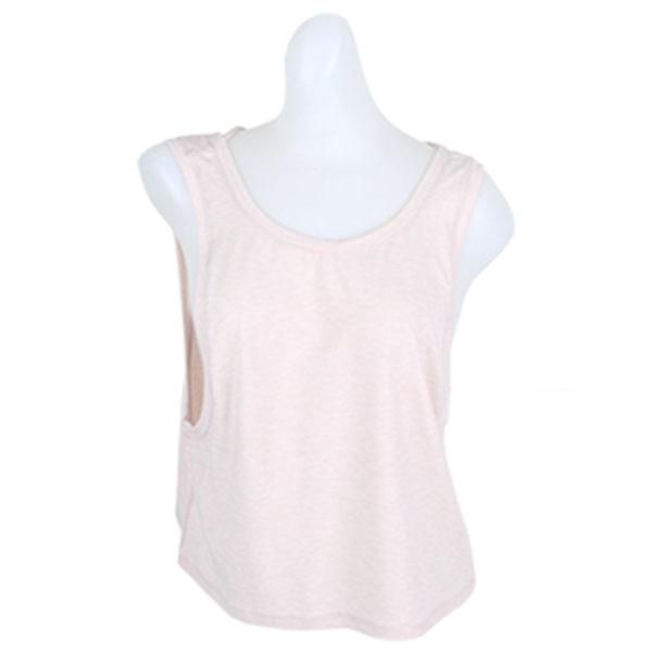뉴발란스 여성 트랜스폼 크롭 민소매 NBNG836362 핑크