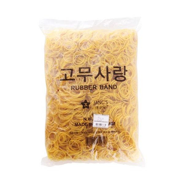 고무밴드1kg(40)/소 / 지름 40mm 1kg 1세트 (0041) 노랑고무줄 노란고무줄