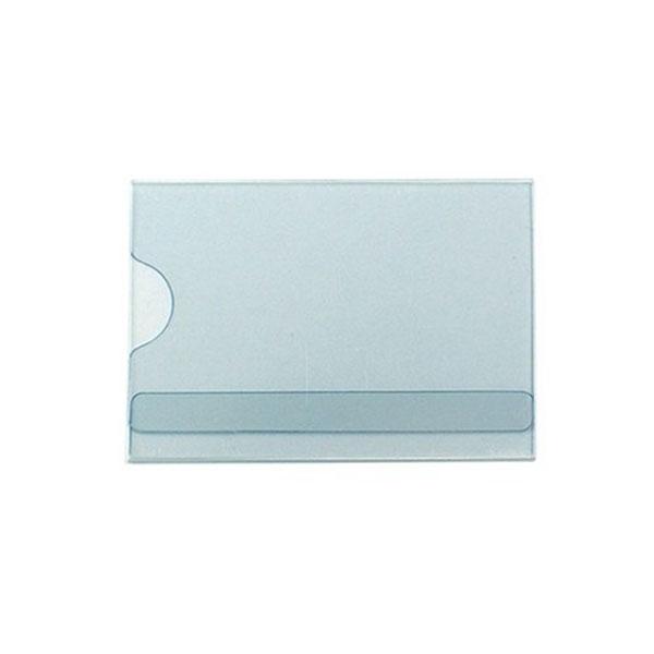 명찰꽂이판(PVC)소 75*52mm 10개입 1세트 (2419)