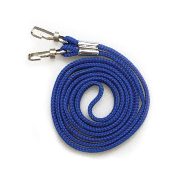 양쪽목걸이줄 고리형(파랑) 100개입 1세트(2356)