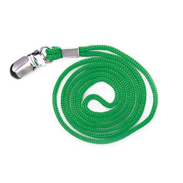 칼라목걸이줄 클립형(초록) 50개입 1세트 (2338)