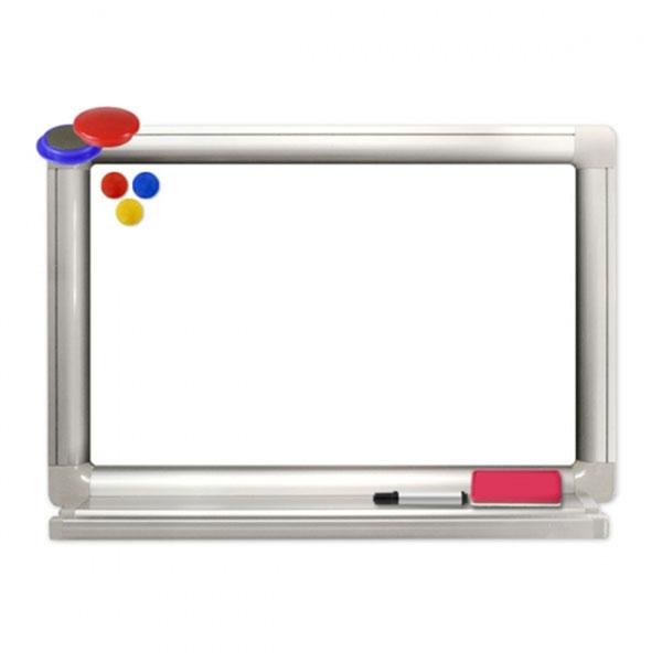 하얀칠판 85×120cm 대형 화이트보드 펜아저씨
