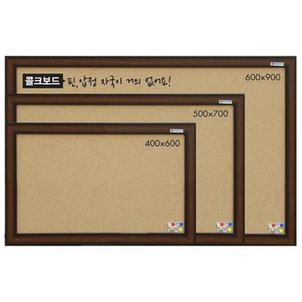 콜크게시판 600×400 콜크보드 문교