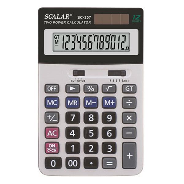 전자계산기 SC-207 스칼라 계산기