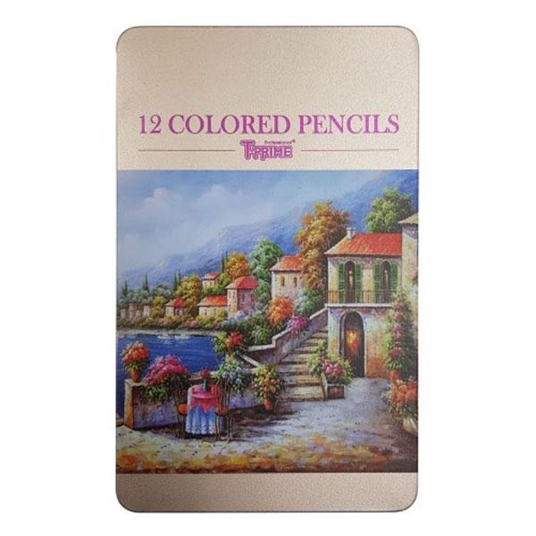 티프라임 목색연필 12색 색연필 티티 채색 색칠